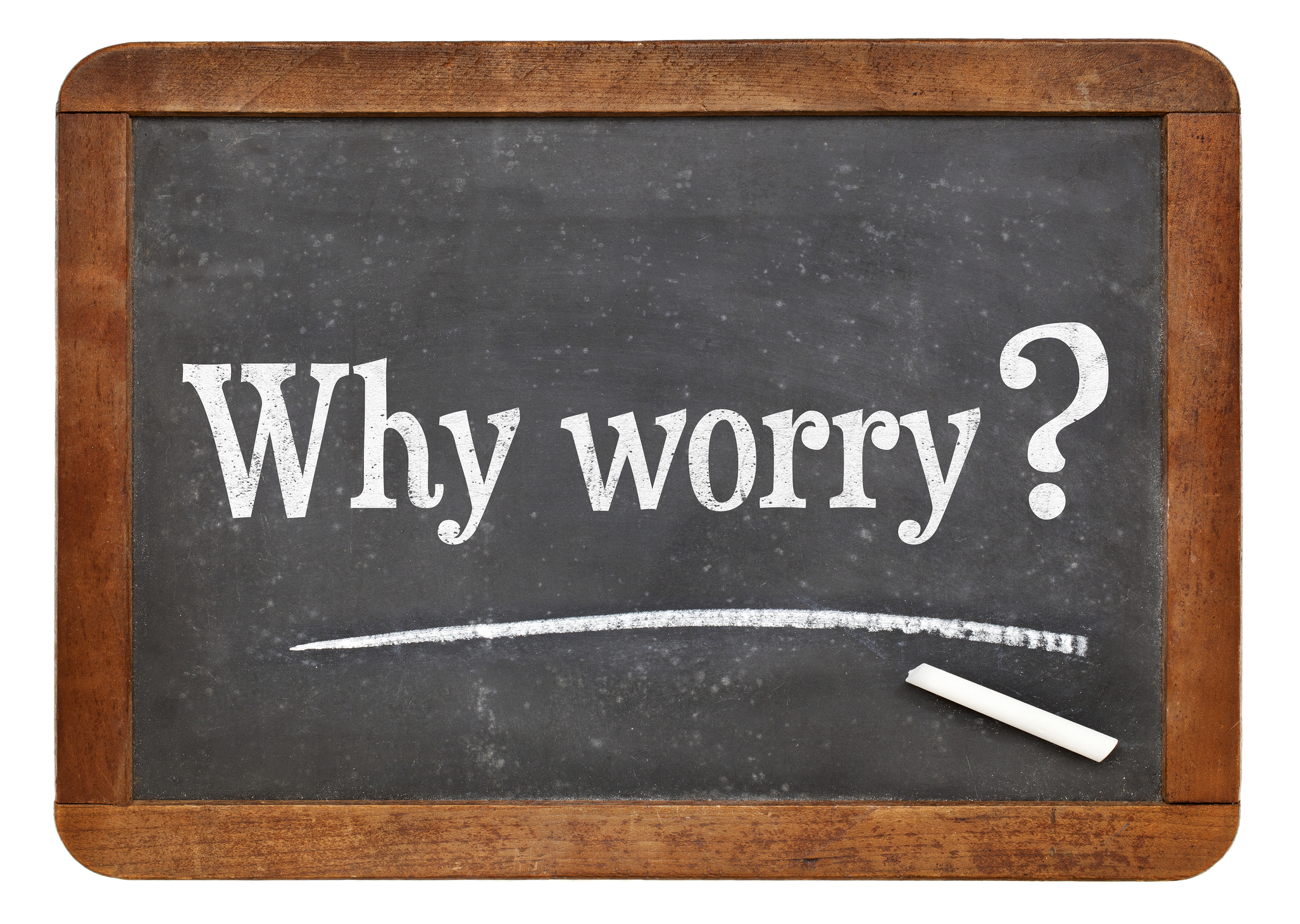 why worry text